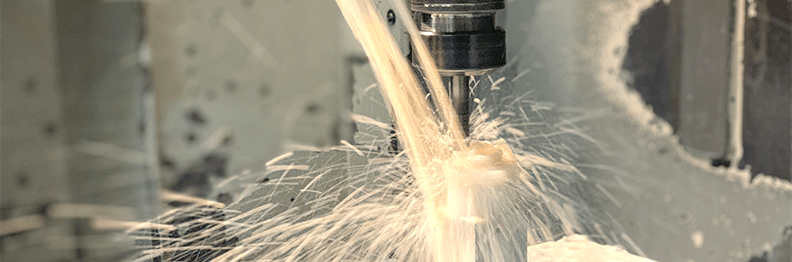 Machining and production