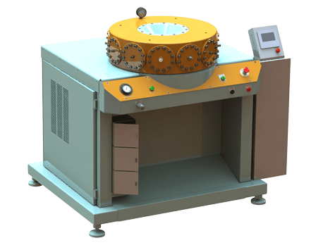 Special hydraulic press in forming terminology
