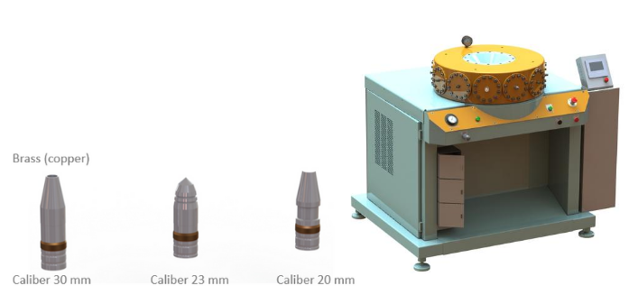 Special-purpose hydraulic presses for rotating bands